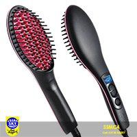 Simply Straight Hair Straightener Brush ssmc4