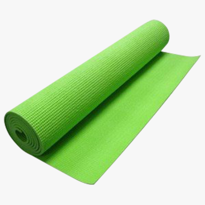 Gymnastics Exercise Yoga Mat Double Part (Color: Green